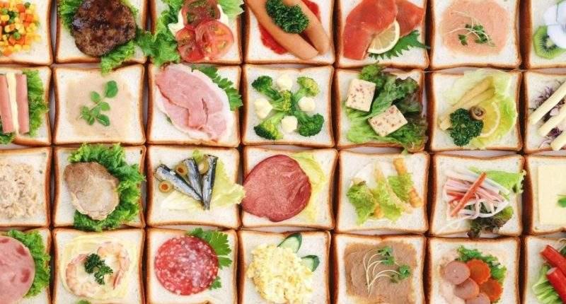 különböző ételek ételallergia teszthez